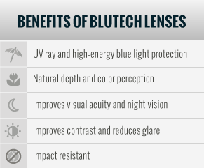 Benefits of BluTech Lenses